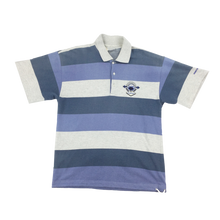 Load image into Gallery viewer, Vintage Löffler Striped Polo Shirt - Large