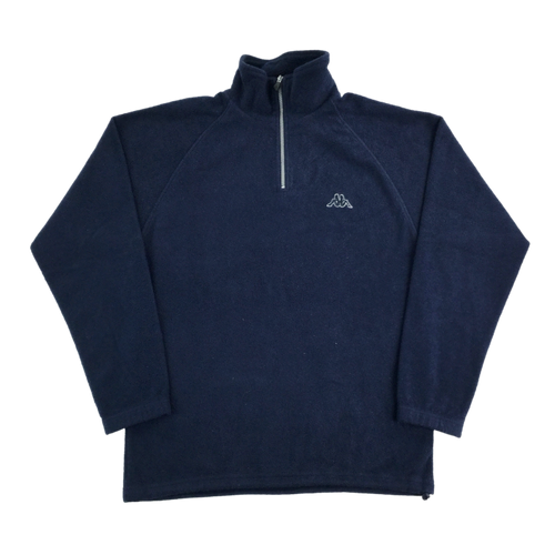 Kappa 1/4 Zip Fleece Sweatshirt - Large