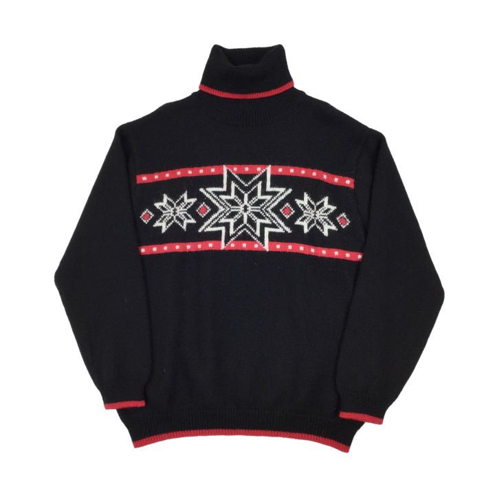 Christmas Turtle Neck Sweatshirt - XL