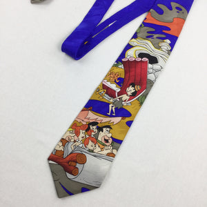 The Flintstones Cartoon Tie