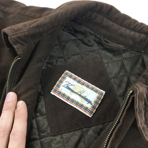 Thomas Burberry Quilted Jacket - Large