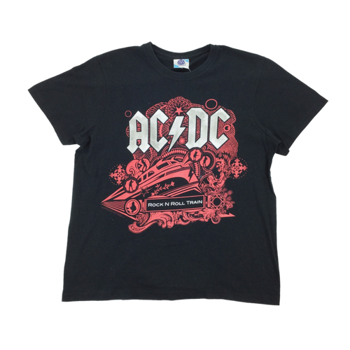 ACDC Rock N Roll Train T-Shirt - Medium