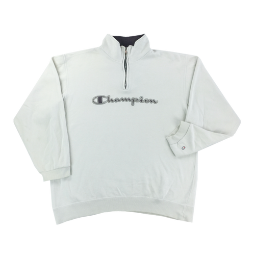 Champion 1/4 Zip Sweatshirt - Large