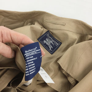 Burberry Trench Coat - XL
