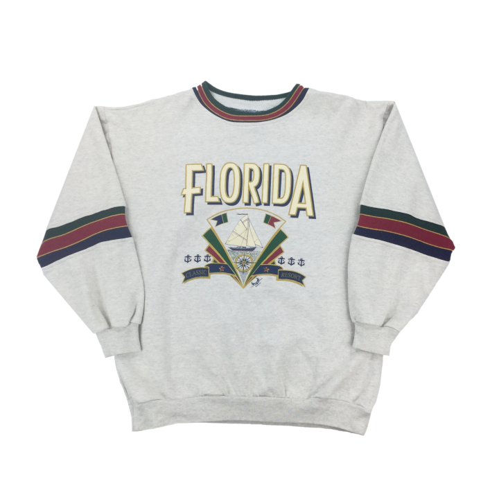 Florida Resort Sweatshirt - Large