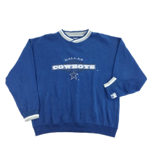 Load image into Gallery viewer, NFL Starter Dallas Cowboys Sweatshirt - XL