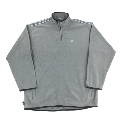 Adidas 1/4 Zip Fleece Jumper - Medium