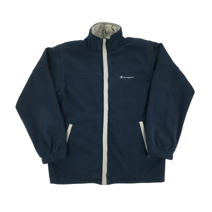Champion Fleece Zip Jacket - Small