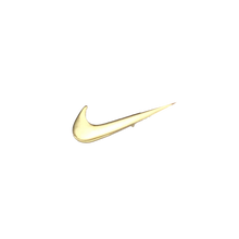 Load image into Gallery viewer, Rare Nike Swoosh Gold Pin