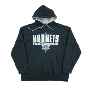 Adidas Hornets Center Logo Hoodie - Medium