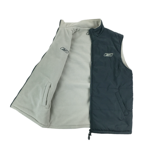 Reebok Reversible Fleece Gilet - Medium