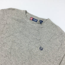 Load image into Gallery viewer, Chaps Knit Sweatshirt Grey - XXL