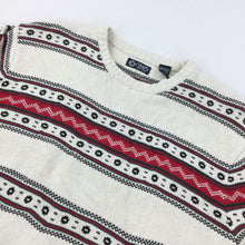 Load image into Gallery viewer, Chaps Christmas Knit Sweatshirt - XXL