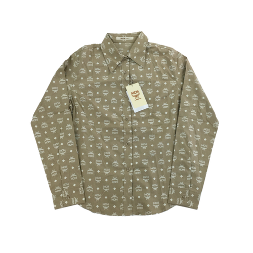 MCM Deadstock Monogram Shirt - Woman/Small