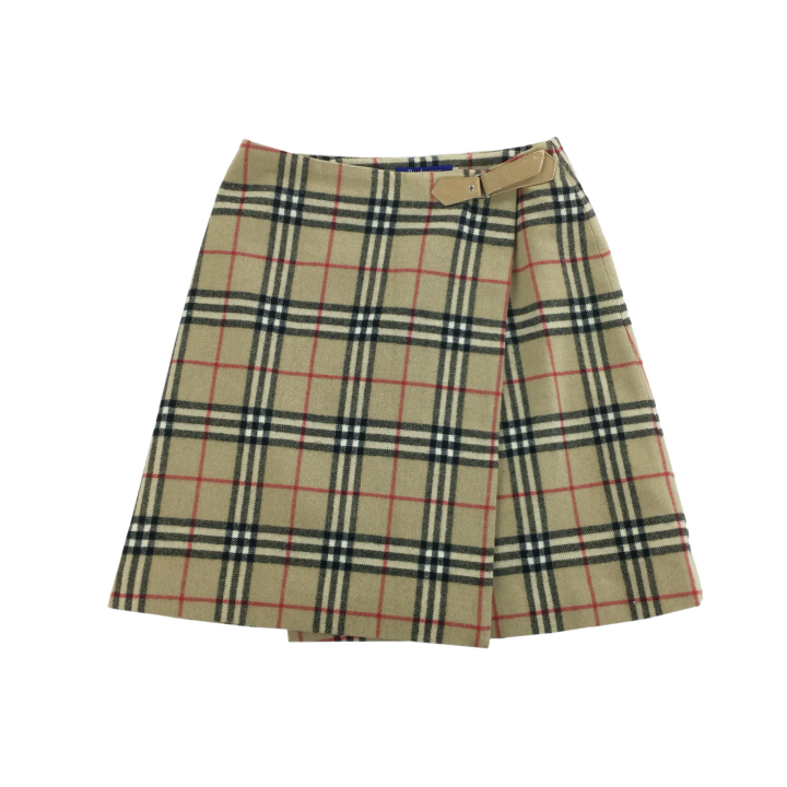 Burberry Wool Skirt - Woman/Small