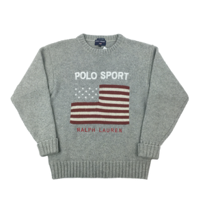Ralph Lauren Polo Sport Wool Sweatshirt - Large