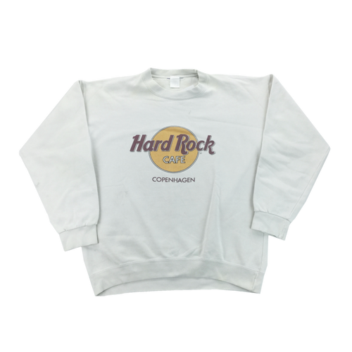 Hard Rock Cafe 90s Copenhagen Sweatshirt - Large