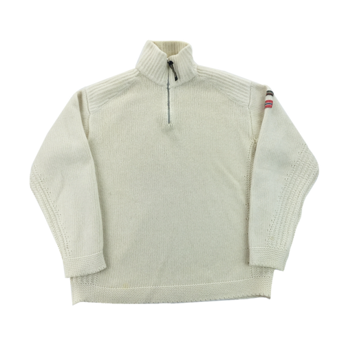 Napapijri 1/4 Zip Sweatshirt - Large