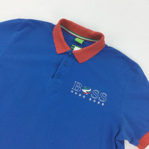 Hugo Boss 2014 Italy Polo Shirt - Large