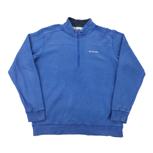 Columbia 1/4 Zip Sweatshirt - Large
