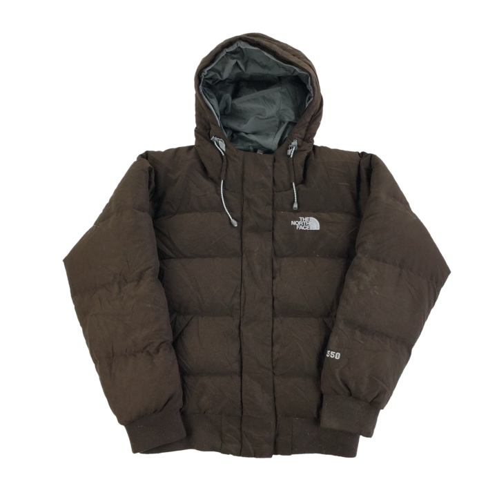 The North Face 550 Hooded Puffer Jacket - Woman/Small