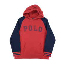Load image into Gallery viewer, Ralph Lauren Polo Spellout Hoodie - Womans/Large