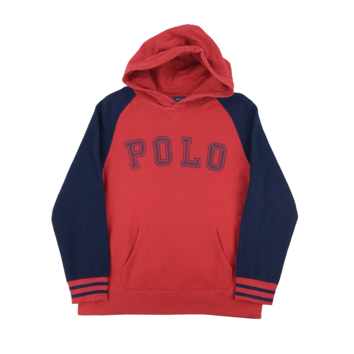 Ralph Lauren Polo Spellout Hoodie - Womans/Large