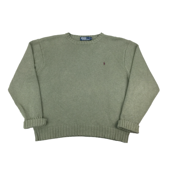Ralph Lauren Knit Sweatshirt - XL