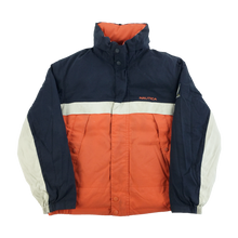 Load image into Gallery viewer, Nautica Reversible Puffer Jacket - Medium