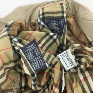 Burberry Trench Coat - Large