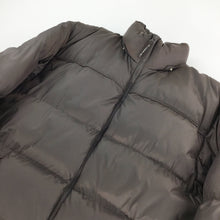 Load image into Gallery viewer, Plain Brown Puffer Jacket - XL