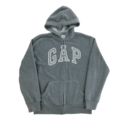 GAP Fleece Zip Hoodie - Woman/Medium