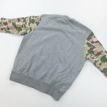 Load image into Gallery viewer, New Era Button Sweatshirt - Medium