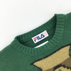 Fila Wool Sweatshirt - Large