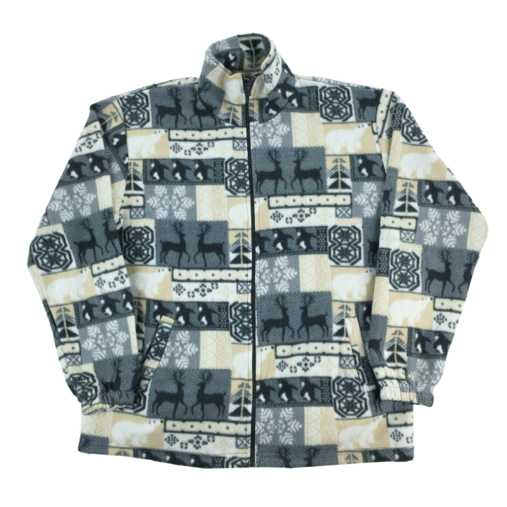 Crazy Fleece Zip Jumper - XXL