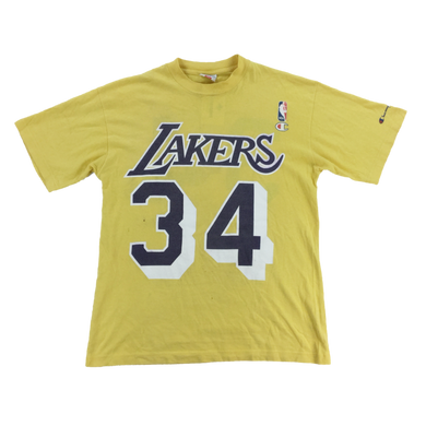 Champion 90s Lakers 34 T-Shirt - Small