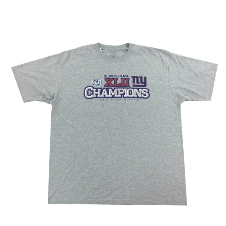 Reebok NFL Superbowl New York Giants T-Shirt - XL