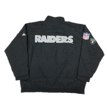 Load image into Gallery viewer, NFL Raiders Jacket - Large