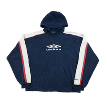 Load image into Gallery viewer, Umbro Big Logo Fleece Hoodie - Medium
