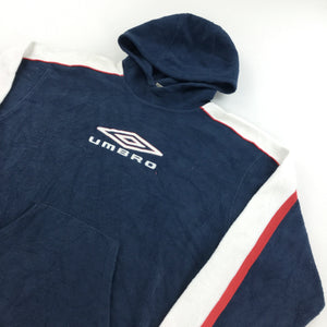 Umbro Big Logo Fleece Hoodie - Medium