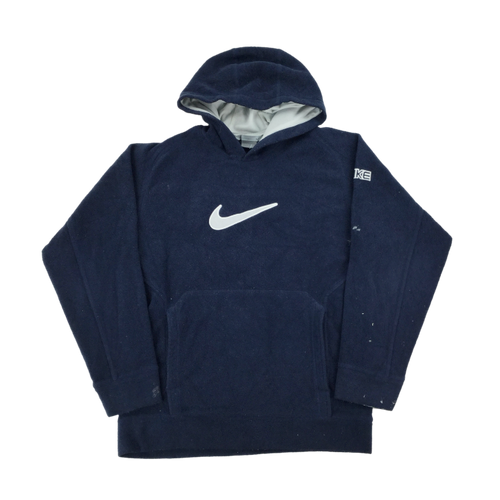 Nike Big Swoosh Fleece Hoodie - Small