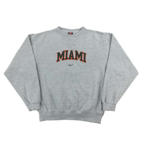 Nike 90's Miami Swoosh Sweatshirt - Medium