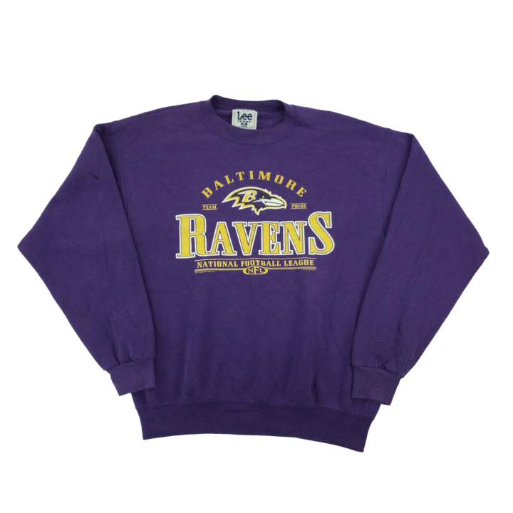 Lee NFL Ravens 2001 Sweatshirt - Medium