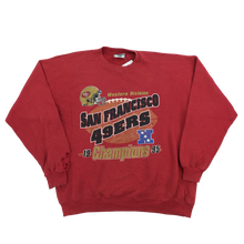 Load image into Gallery viewer, Lee NFL San Francisco 49ers Sweatshirt - XL