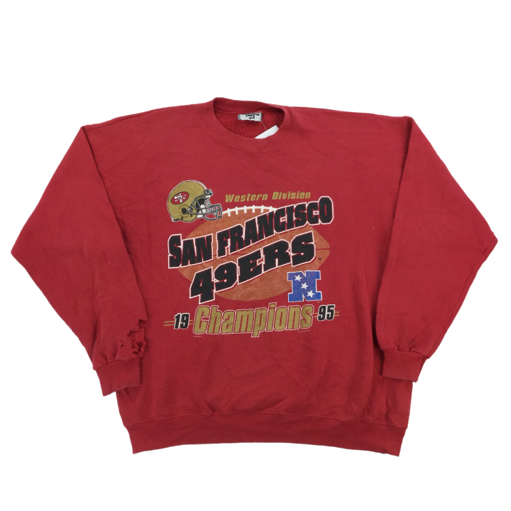 Lee NFL San Francisco 49ers Sweatshirt - XL