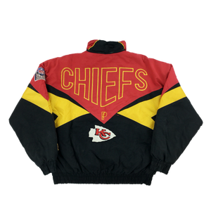 KC Chiefs 90's NFL Jacket - Large