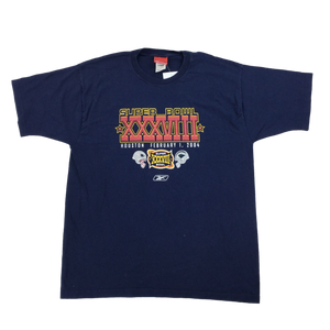 Reebok NFL Superbowl 2004 T-Shirt - XL