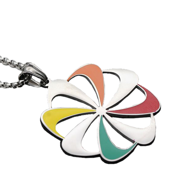 Nike Circular Chain Necklace