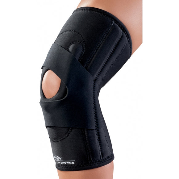 DonJoy Lateral J Buttress Patella Knee Brace (Hinged) - SpaSupply