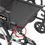 "Drive Medical Viper Plus GT Wheelchair (Seat Width 20"") - SpaSupply"